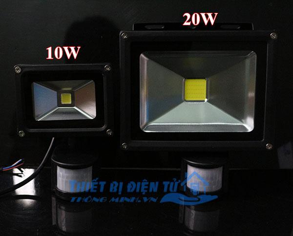 đèn tự động bật tắt